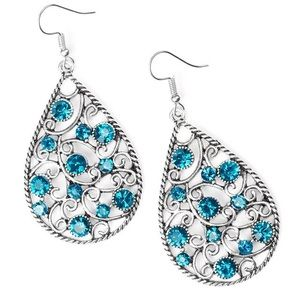 Certainly Courtier Blue Earring